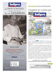Solipro dans la revue Terre des Chefs