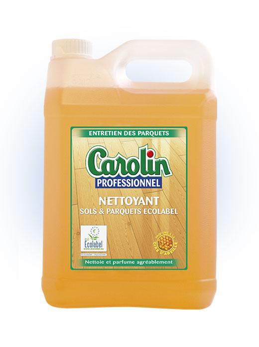 Carolin Nettoyant Parquet Ecolabel 5L