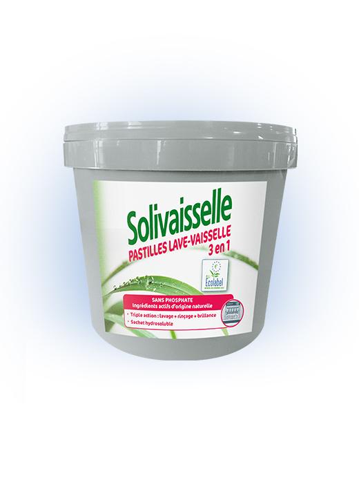 Solivaisselle Pastilles 3en1 Ecolabel