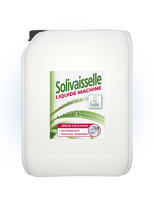 Solivaisselle liquide machineEcolabel 10L