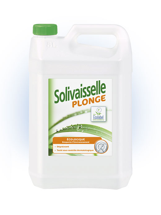 Solivaisselle plonge Ecolabel 5L