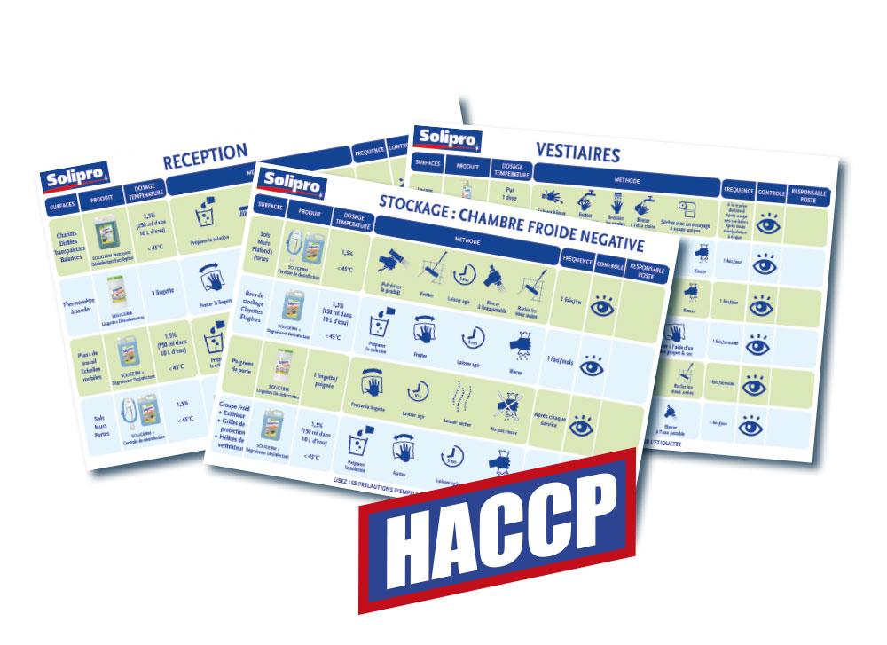 Solipro visuel HACCP
